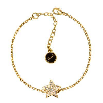 Ladies Karl Lagerfeld Gold Plated Star Bracelet 5378163