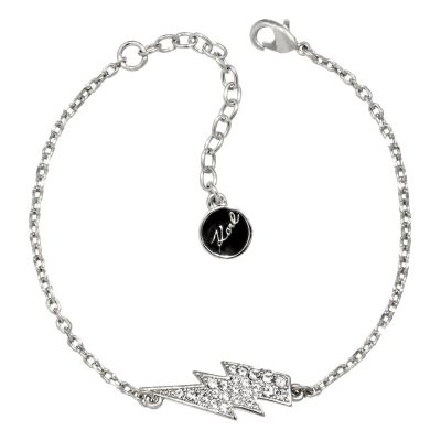Ladies Karl Lagerfeld Silver Plated Lightning Bolt Bracelet 5378164