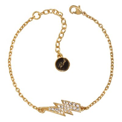 Ladies Karl Lagerfeld Gold Plated Lightning Bolt Bracelet 5378165