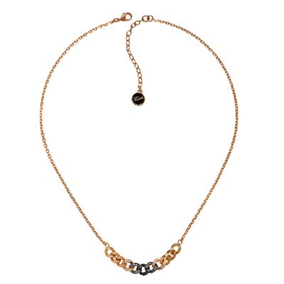 Karl Lagerfeld Dames Ombre Chain Necklace Verguld Rose Goud 5378353