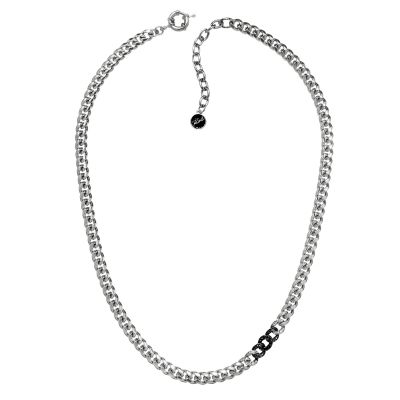 Biżuteria damska Karl Lagerfeld Jewellery Ombre Chain Collar Necklace 5378188