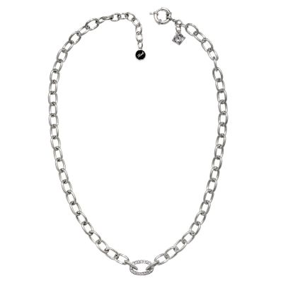 Biżuteria damska Karl Lagerfeld Jewellery Oval Link Collar Necklace 5378207