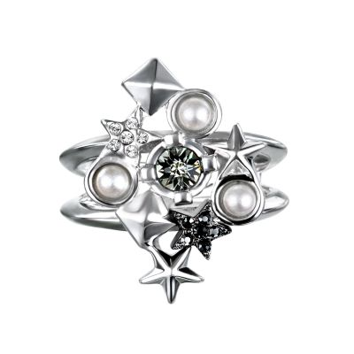 Joyería para Mujer Karl Lagerfeld Jewellery Eclectic Stud Cluster Ring Size N 5378321