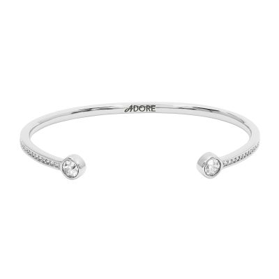 Adore Dames Skinny Pave Stone Bangle Verguld Zilver 5260426