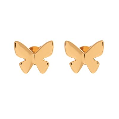 Biżuteria damska Olivia Burton Jewellery Butterfly Stud Earrings OBJ16SBE01