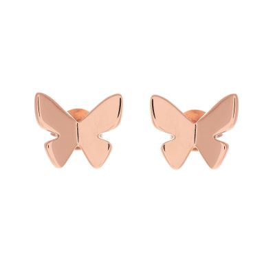 Biżuteria damska Olivia Burton Jewellery Butterfly Stud Earrings OBJ16SBE02