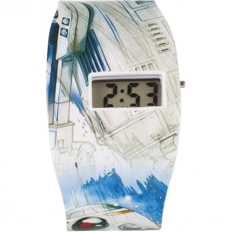 Childrens Character Star Wars Classic Characters All Over Print LCD Watch STAR572