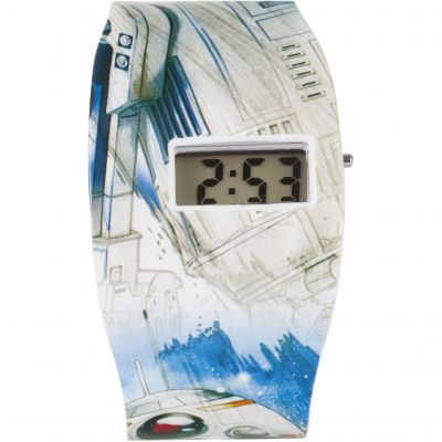 Reloj para Character Star Wars Classic Characters All Over Print LCD STAR572