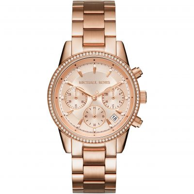 Ladies Michael Kors RITZ Chronograph Watch MK6357