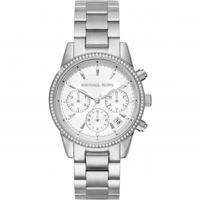 Ladies Michael Kors RITZ Chronograph Watch MK6428