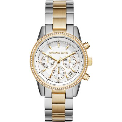 Ladies Michael Kors RITZ Chronograph Watch MK6474