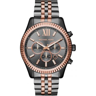 Michael Kors LEXINGTON Herrenchronograph in Zweifarbig MK8561