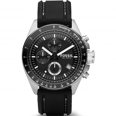 Fossil Decker Herrenchronograph in Schwarz CH2573IE
