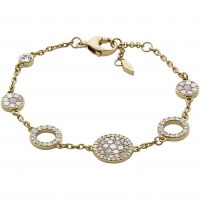 Ladies Fossil PVD rose plating BRACELET JF02602710