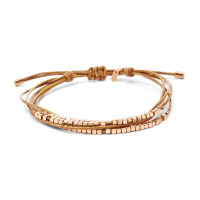 Ladies Fossil Gold Plated Bracelet JA6422791