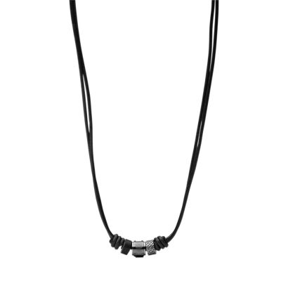 Mens Fossil Stainless Steel Necklace JF00501797