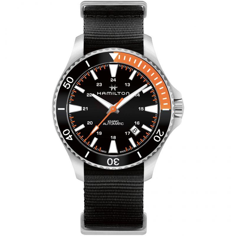Mens Hamilton Khaki Navy Automatic Watch