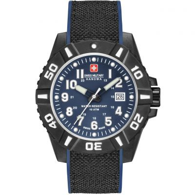 Montre Homme Swiss Military Hanowa Black Carbon 06-4309.17.003