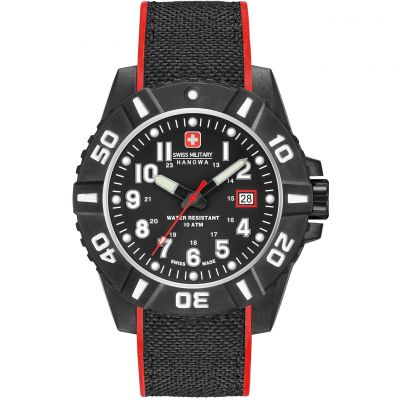 Montre Homme Swiss Military Hanowa Black Carbon 06-4309.17.007.04
