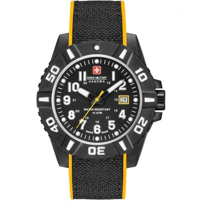 Montre Homme Swiss Military Hanowa Black Carbon 06-4309.17.007.79