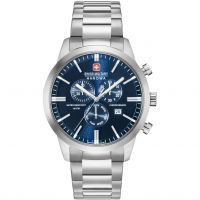 Mens Swiss Military Hanowa Chrono Classic Chronograph Watch 06-5308.04.003