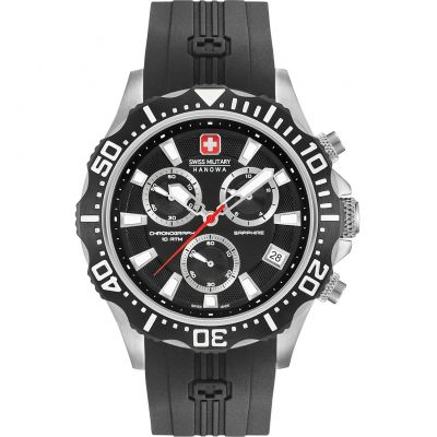 Montre Chronographe Homme Swiss Military Hanowa Patrol Chrono 06-4305.04.007