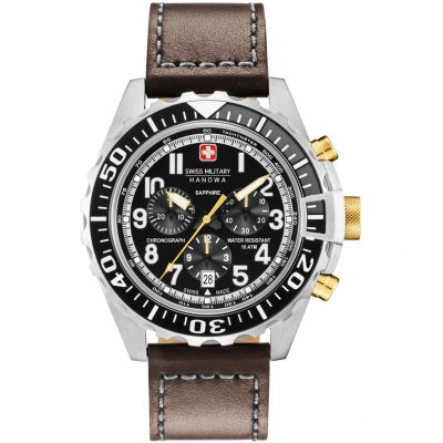 Montre Chronographe Homme Swiss Military Hanowa Touchdown Chrono 06-4304.04.007.05