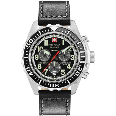 Montre Chronographe Homme Swiss Military Hanowa Touchdown Chrono 06-4304.04.007.07