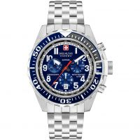 Mens Swiss Military Hanowa Touchdown Chrono Chronograph Watch 06-5304.04.003