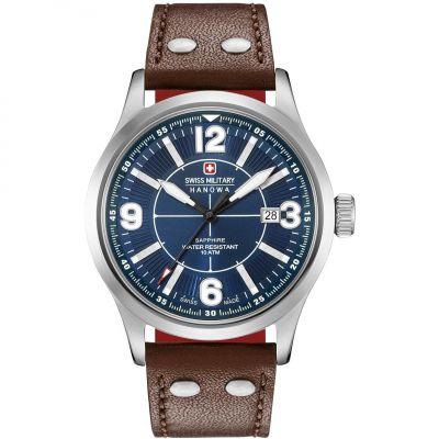 Mens Swiss Military Hanowa Undercover Watch 06-4280.04.003.10