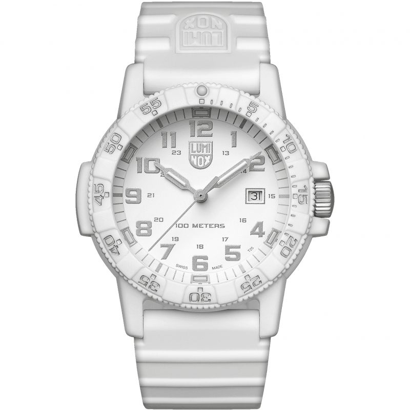 Mens Luminox 0320 Series Giant Leatherback Sea Turtle Whiteout Watch