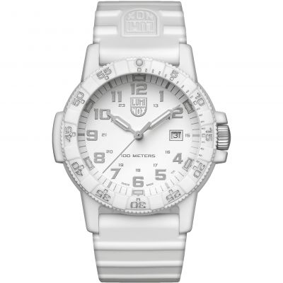 Mens Luminox 0320 Series Giant Leatherback Sea Turtle Whiteout Watch A0327.WO