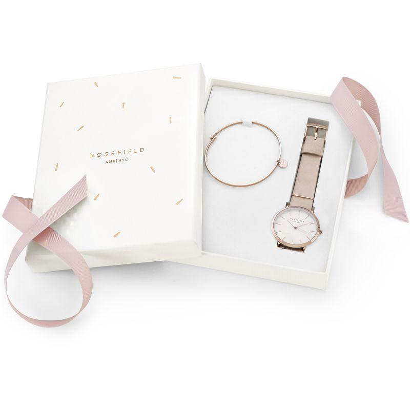 Ladies Rosefield West Village Gift Set Watch