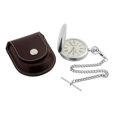 Ladies Jean Pierre Full Hunter Pocket Mechanical Watch JP-D7