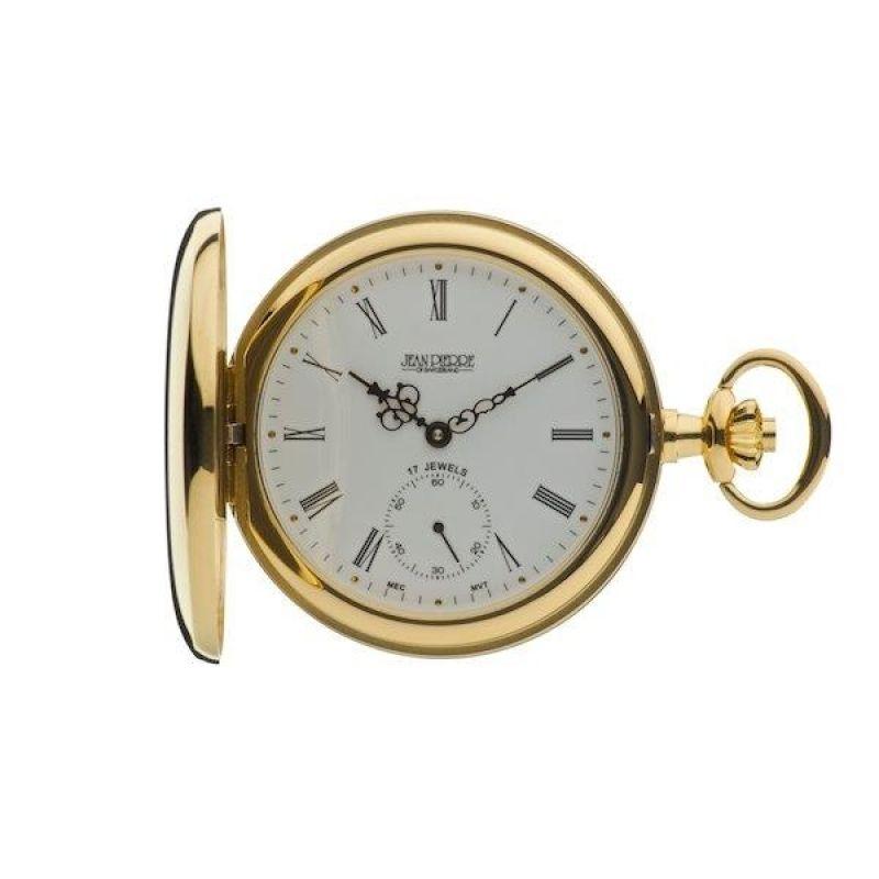 Jean Pierre Hunter Pocket Mechanical Watch