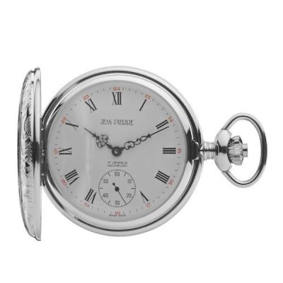 Jean Pierre Half Hunter Pocket Mechanical Watch JP-G100CM