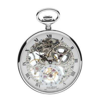 Jean Pierre Open Face Pocket Mechanical Watch JP-G252CM