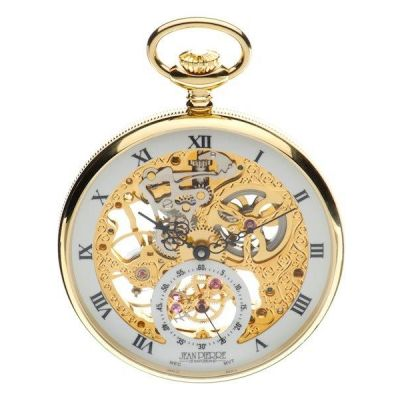 Jean Pierre Open Face Pocket Mechanical Watch JP-G252PM