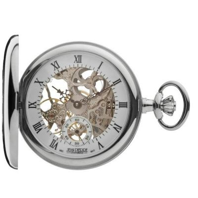 Jean Pierre Half Hunter Pocket Mechanical Watch JP-G303CM