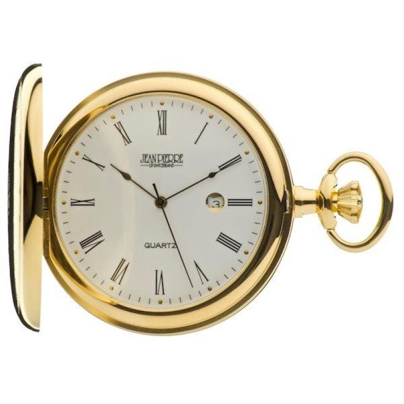 Jean Pierre Hunter Quartz Pocket Watch JP-G557PQ