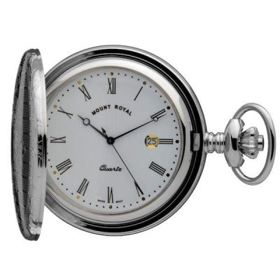 Mount Royal Hunter Quartz Pocket Watch MR-B5