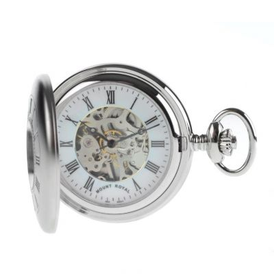 Mount Royal Half Hunter Pocket Mechanical Watch MR-B26