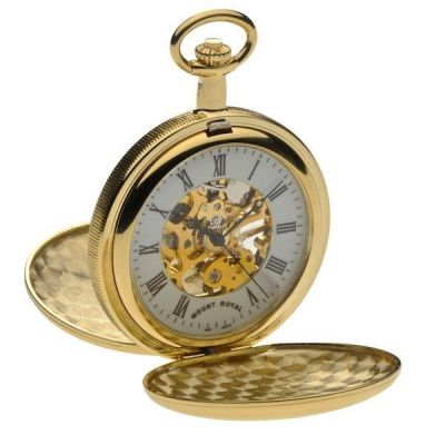 Mount Royal Double Hunter Pocket Mechanical Watch MR-B27
