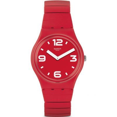 Swatch Original Gent Chili Unisexuhr in Rot GR173A