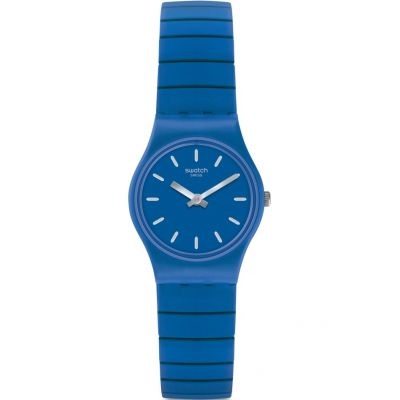 Swatch Originals Lady Flexiblu Unisexuhr in Blau LN155A