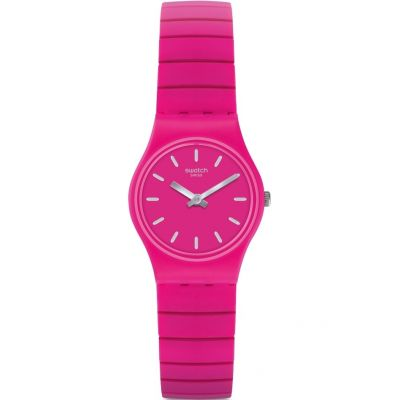 Swatch Originals Lady Flexipink Unisexuhr in Pink LP149A