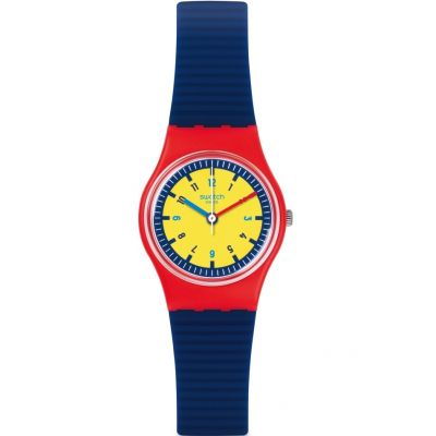 Swatch Originals Lady Bambino Unisexuhr in Blau LR131