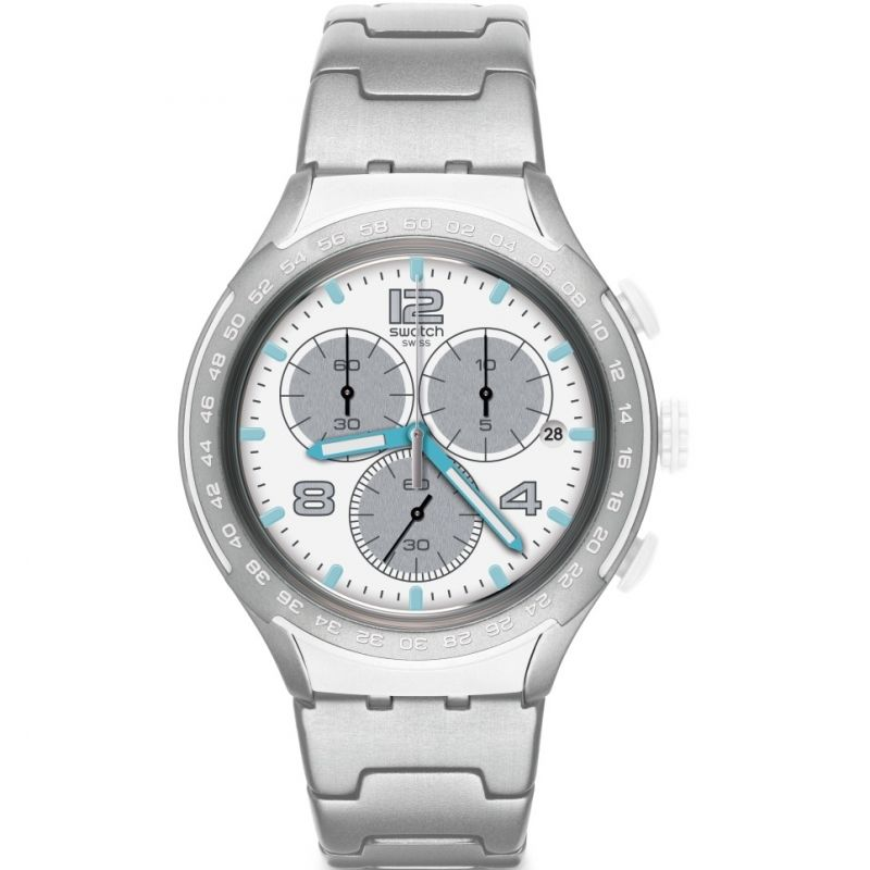 Mens Swatch Pure Attack Chronograph Watch
