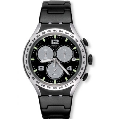 Montre Chronographe Unisexe Swatch Night Attack YYS4026AG