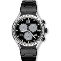 Unisex Swatch Night Attack Chronograph Watch